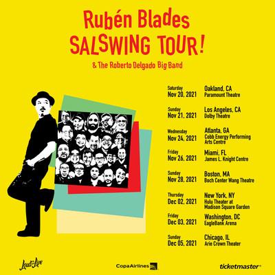 RUBEN BLADES SALSWING TOUR!