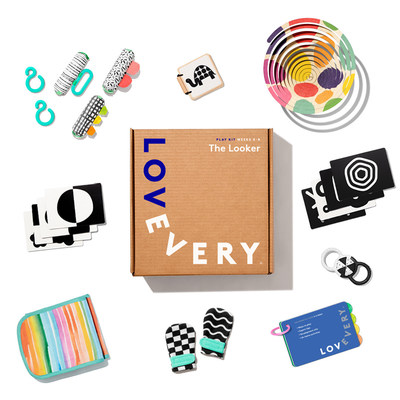 Lovevery, The Looker Play Kit